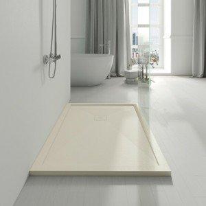 Plato de ducha con marco de...