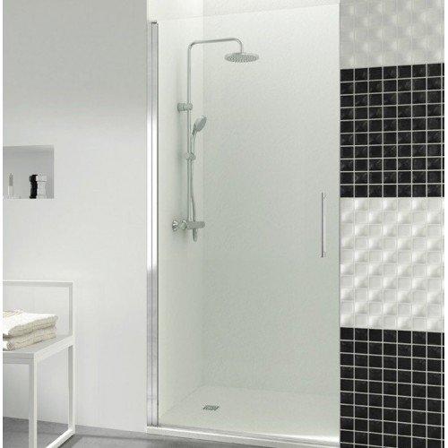 Mampara de ducha con 1 puerta abatible open gme mampara - Mamparas abatibles para ducha ...
