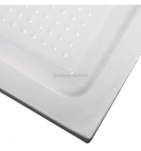 Plato de ducha rectangular acrílico antideslizante