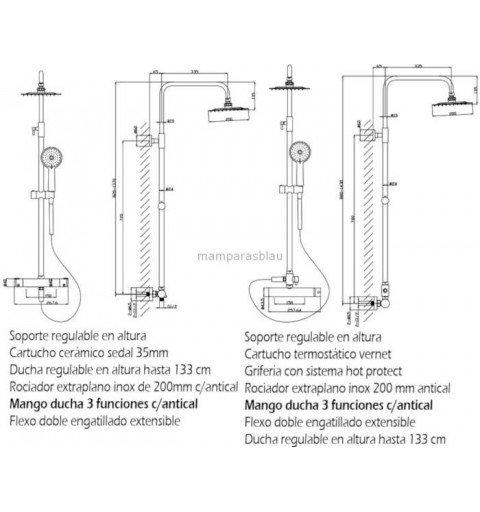 Columna de ducha Contract M
