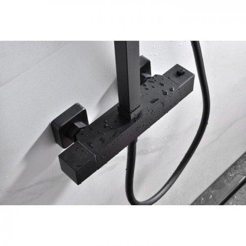 Columna negra termostática Vigo IMEX