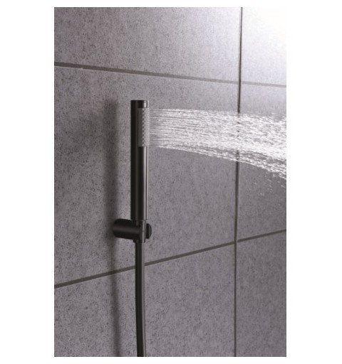 Grifería baño/ducha negro Olimpo IMEX