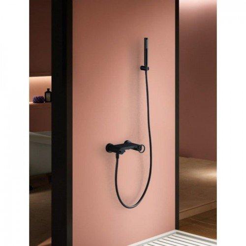 Grifería de ducha negro Olimpo IMEX