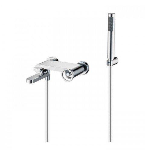 Grifería baño/ducha plata Olimpo IMEX
