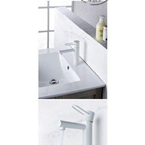 Grifo negro de lavabo Milos IMEX