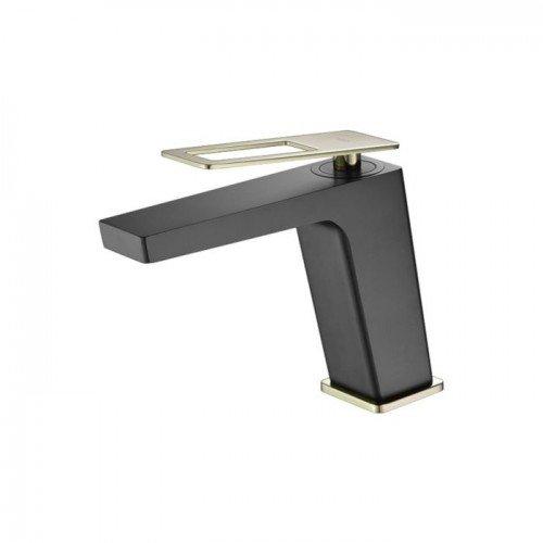 Grifo negro y dorado lavabo Suecia IMEX
