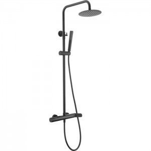 Columna negra de ducha Dinamarca IMEX