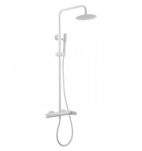 Columna blanca de ducha Dinamarca IMEX