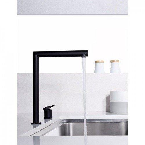 Grifo plegable negro de cocina Itaca IMEX