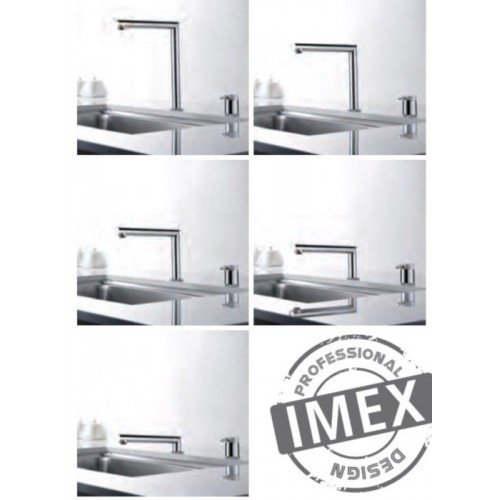Grifo plegable de cocina Itaca IMEX