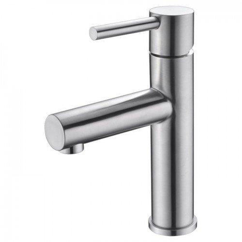 Grifo monomando de lavabo Acero Moscu IMEX