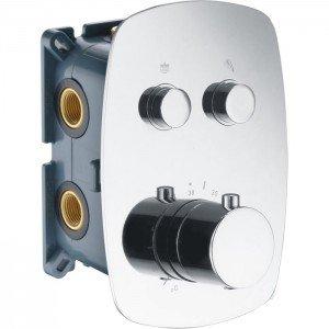 Ducha termostática empotrada pared Madeira IMEX