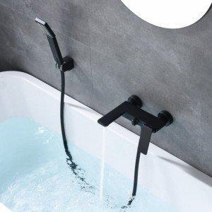 Grifería negra de baño /...