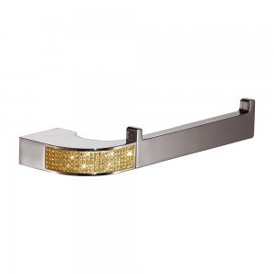 Toallero bidet - cromo/oro