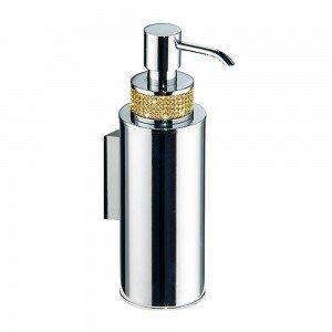 Dosificador pared - cromo/oro