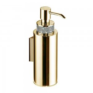 Dosificador pared - oro-blanco