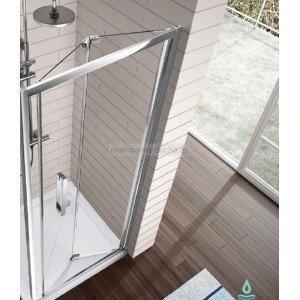 Mampara de ducha plegable 2 hojas Kassandra 300