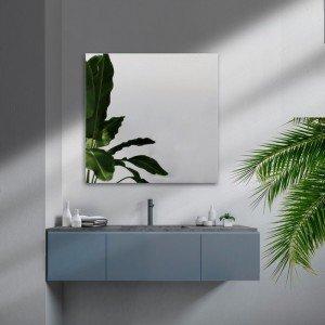 Espejo canto pulido 80x80