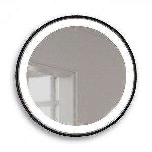 Espejo circular 80ø - negro...