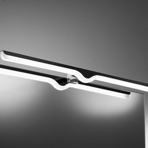Aplique led 520 mm - negro...