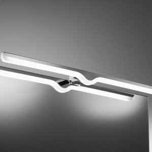 Aplique led 720 mm - cromo