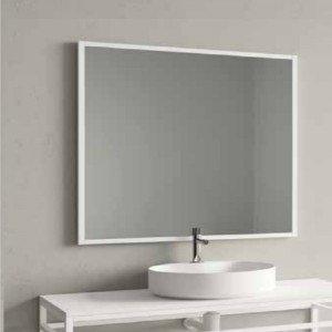 Espejo con marco metálico...