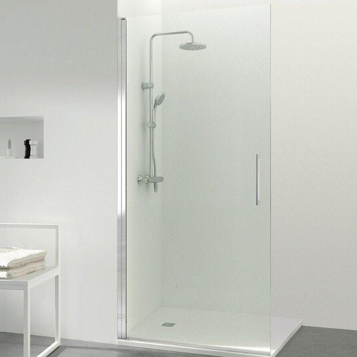 Mampara de ducha de una puerta abatible Open Free