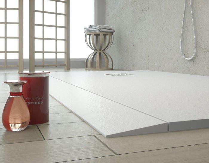 Rampa minusvalía para plato ducha resina carga mineral